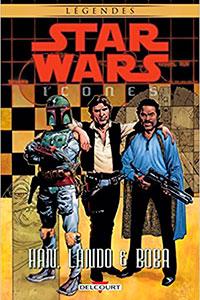Icones Tome 5 : Han, Lando & Boba