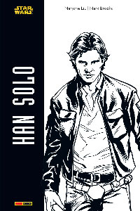 Han Solo collector N&B Grand format