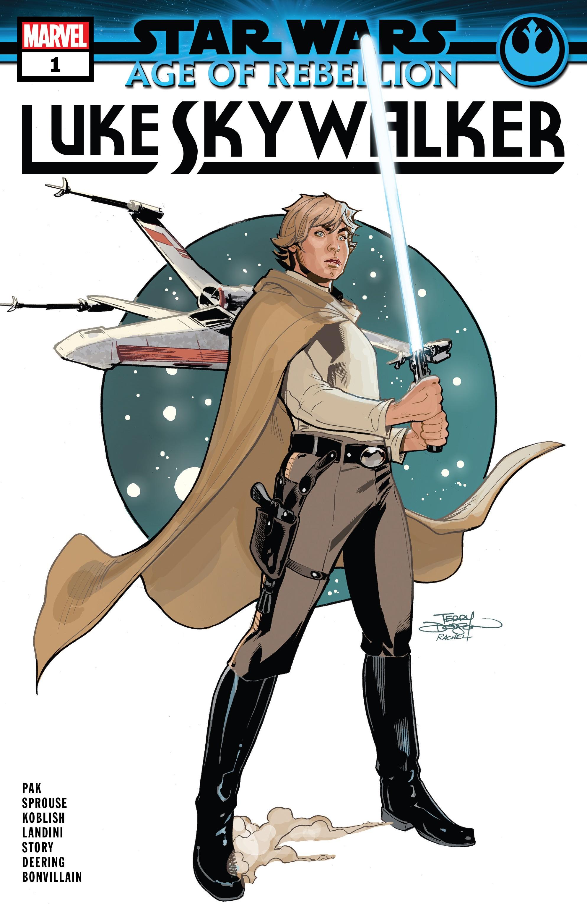 Age of Rebellion - Luke Skywalker #1