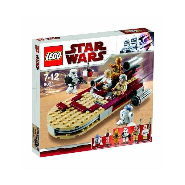 Lego star wars 8092 luke 39 s landspeeder star wars holonet - Coloriage lego starwars ...