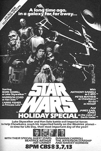 Star Wars Holiday Spécial, l'affiche