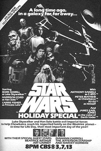 Star Wars Holiday Spécial, l'affiche