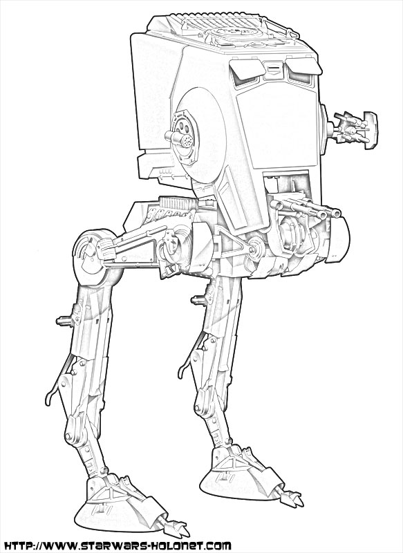 R2d2 robot coloring pages coloring pages - Dessin star wars ...