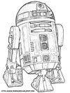 Coloriage Star WarsR2-D2