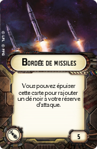 Bordée de missiles