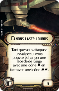 Canons laser lourds