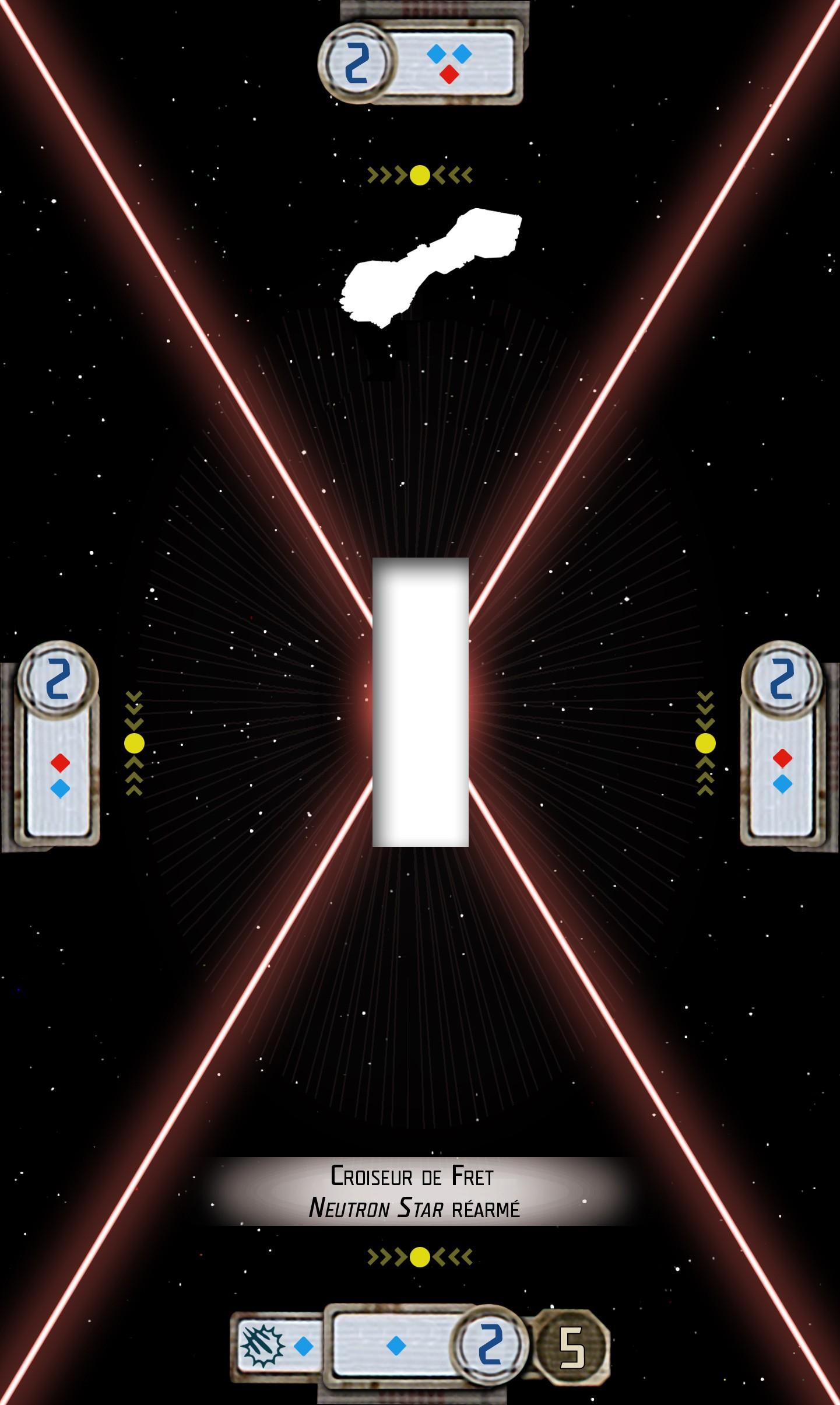 Croiseur de fret Neutron réarmé Base