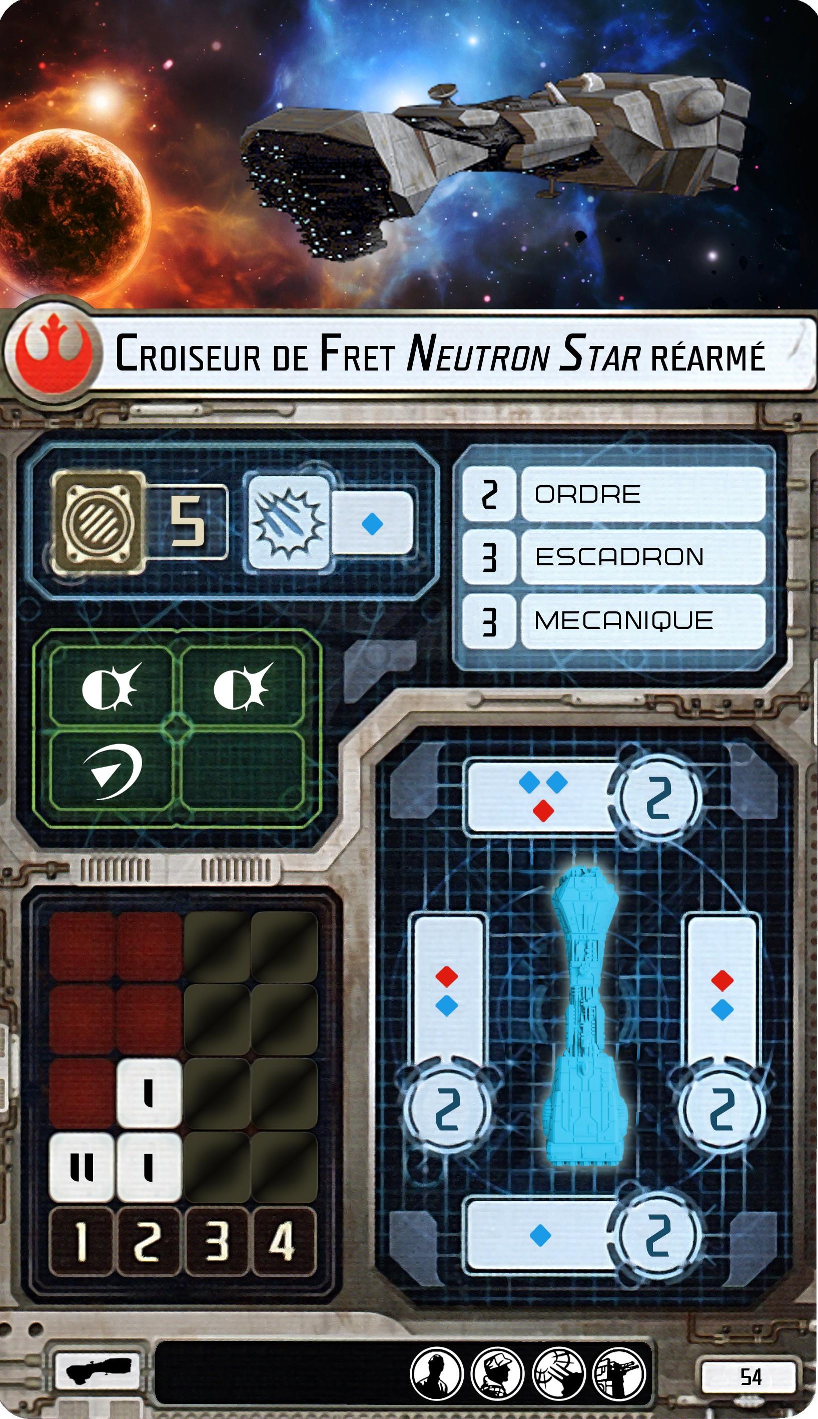 Croiseur de fret Neutron réarmé
