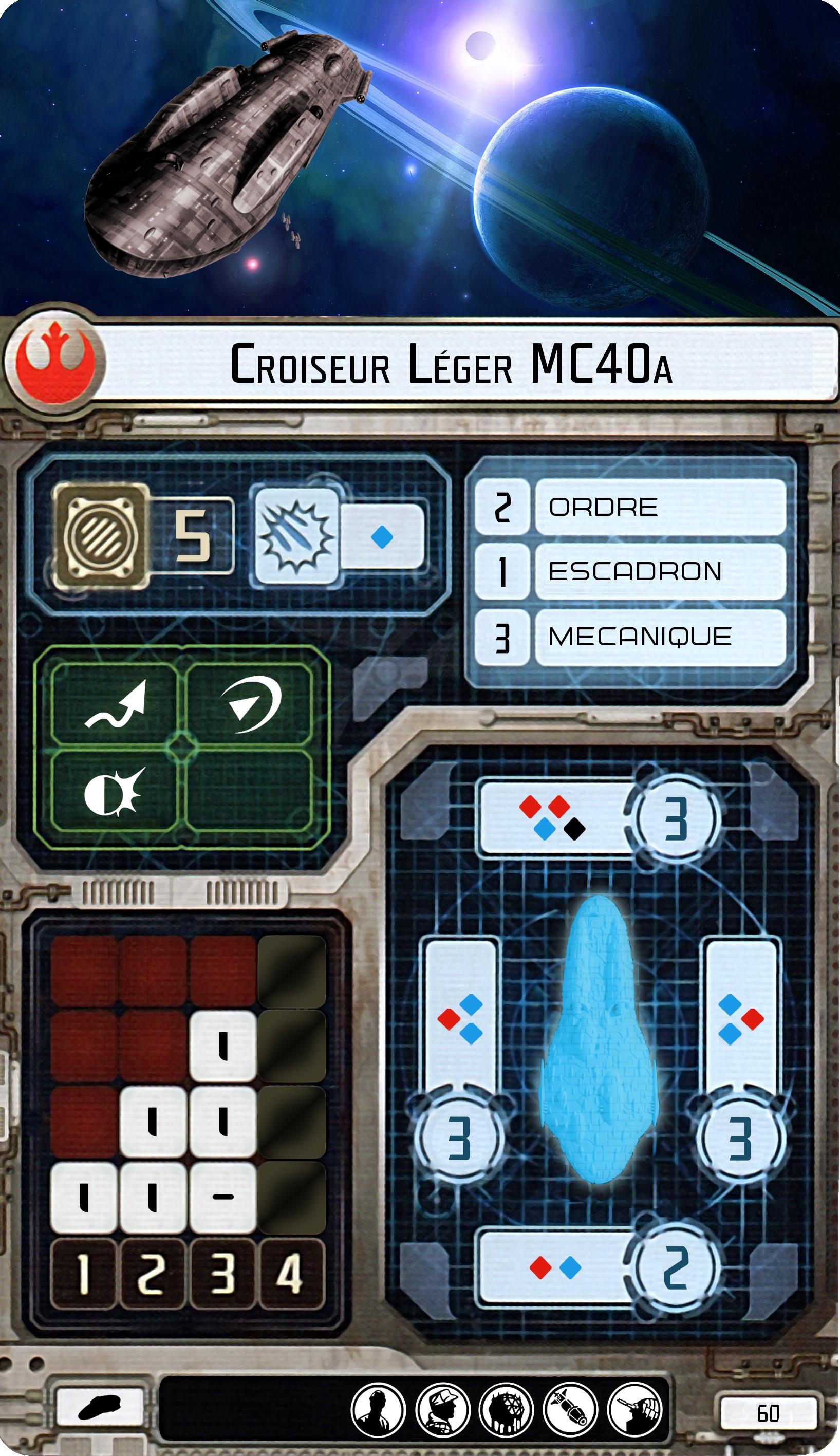 Croiseur léger MC40a
