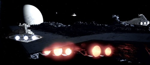 La flotte impériale dans toute sa splendeur