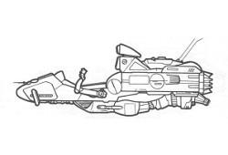 Traîneau à répulsion 64-Y Swift 3