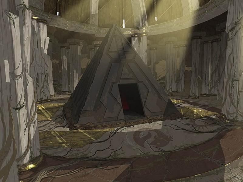 Ashas Ree - Temple de la Force