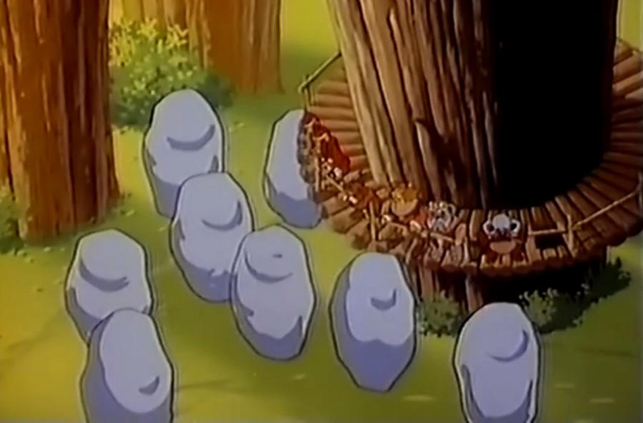 Ewoks S01E07 - Le maléfice des Jindas