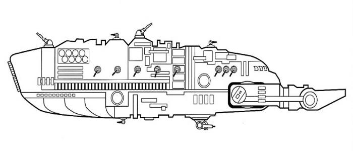 Croiseur de bataille de style Kaloth