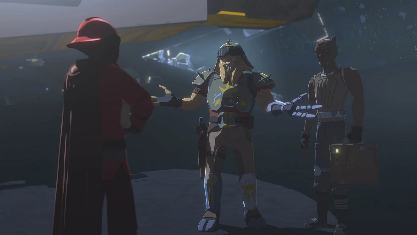 Star Wars Resistance - S02E14 - La Mutinerie