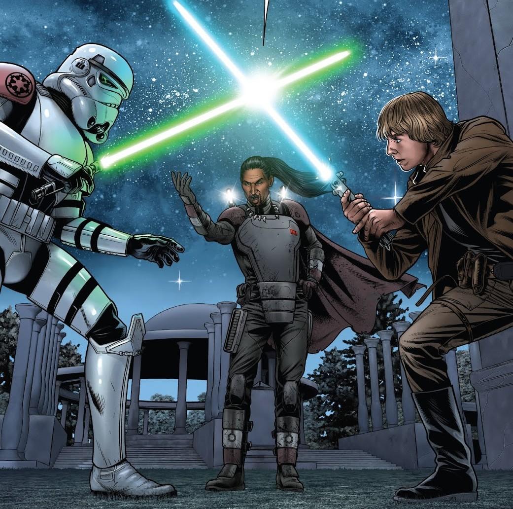 Star Wars - 10. La Fuite