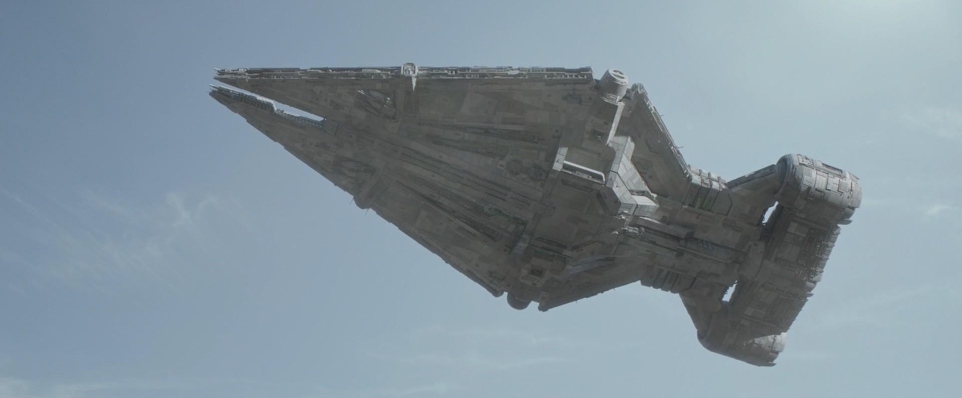 Croiseur léger de classe Arquitens du Moff Gideon (nom inconnu)
