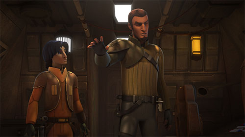 Rebels S02E02 - Relics of the Old Republic