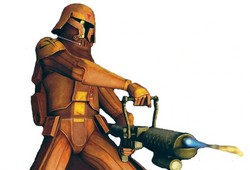 Soldat clone : Flametrooper