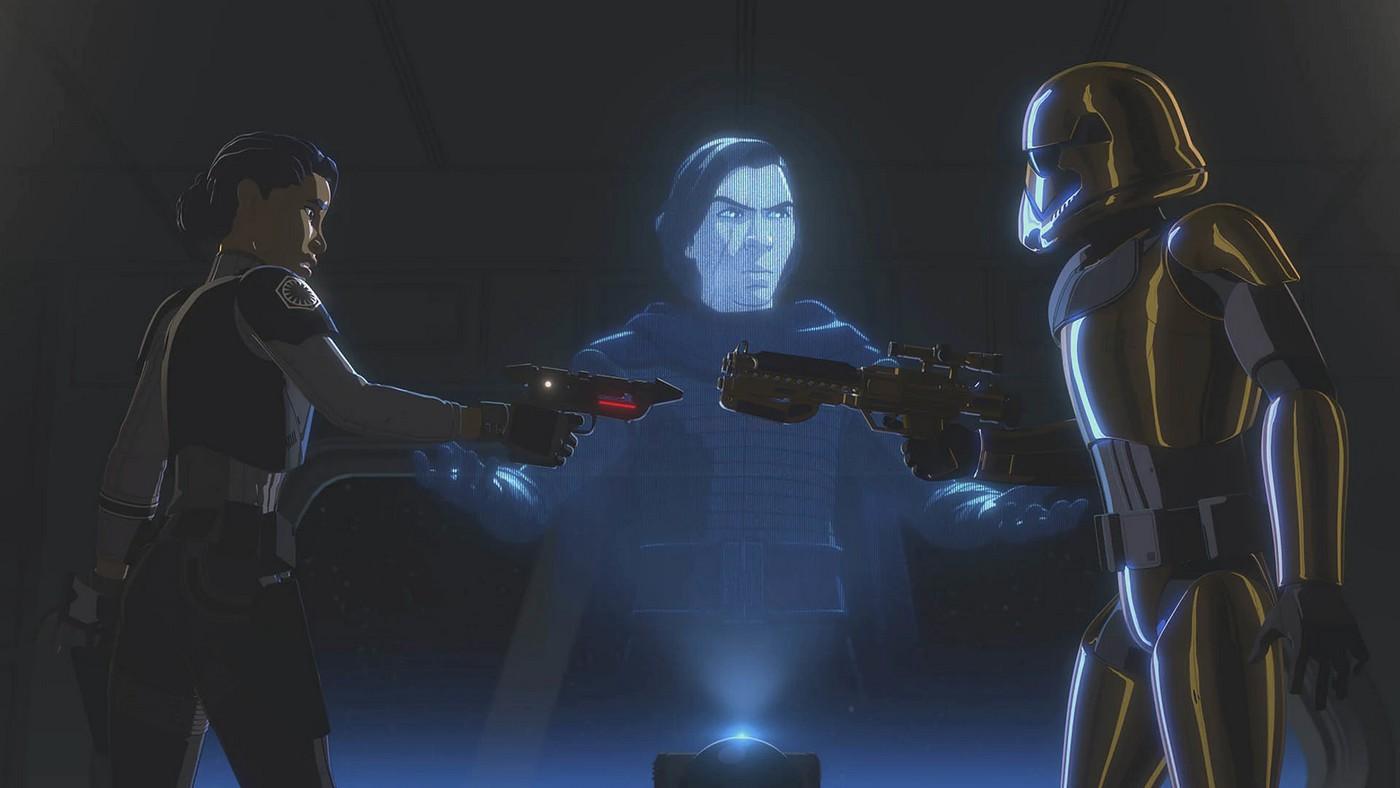 Star Wars Resistance - S02E18 - The Escape