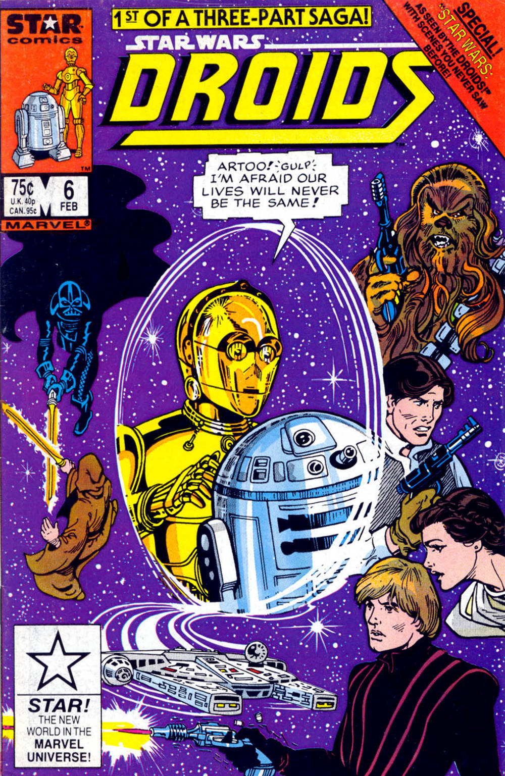 Droids #6 - Star Wars According to the Droids, Part 1