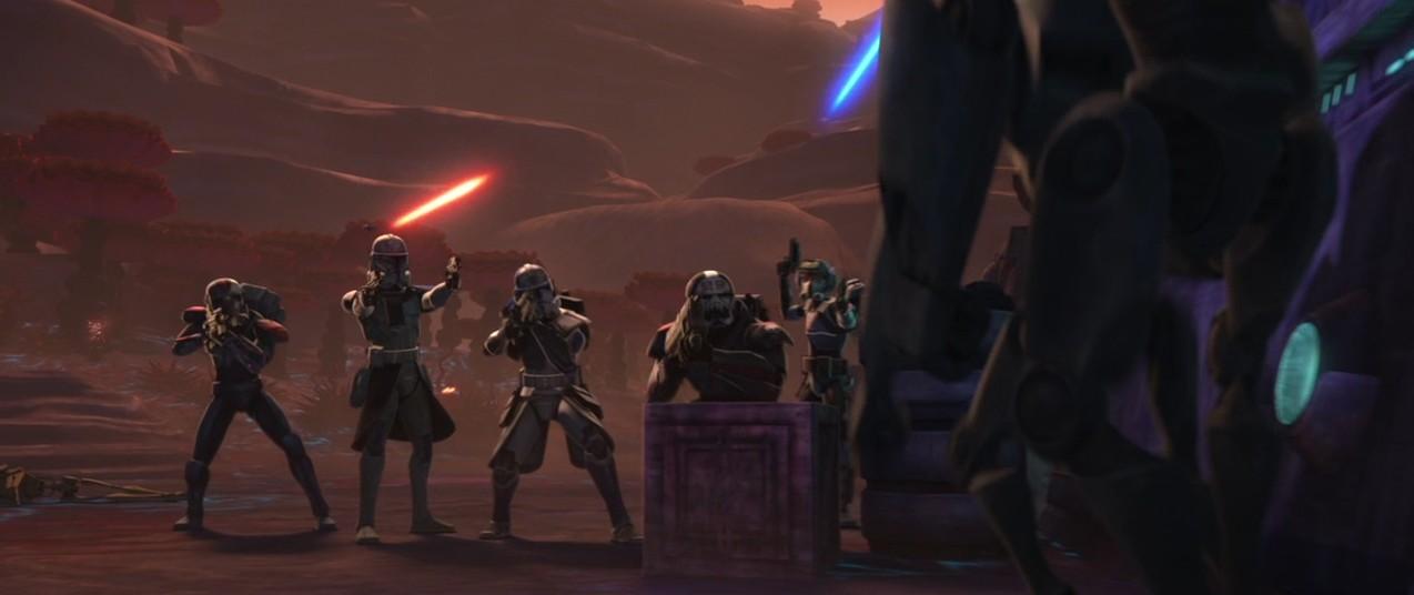 The Clone Wars S07E01 - Le Bad Batch