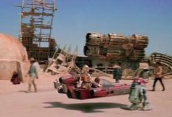 Tatooine - Inner Curved Street