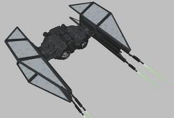 Bombardier TIE du Premier Ordre