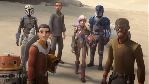 Rebels S04E01 et S04E02 - Les Héros de Mandalore