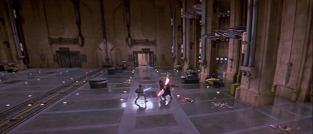 Naboo - Hangar principal de Theed