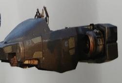 Speeder de patrouille Gian-211