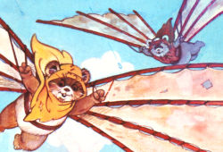 The Ewok's Hang-gliding Adventure