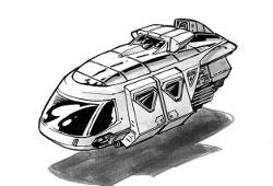 Landspeeder Robo-Hack Metrocab