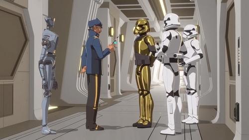 Star Wars Resistance - S01E10 - Secrets et hologrammes