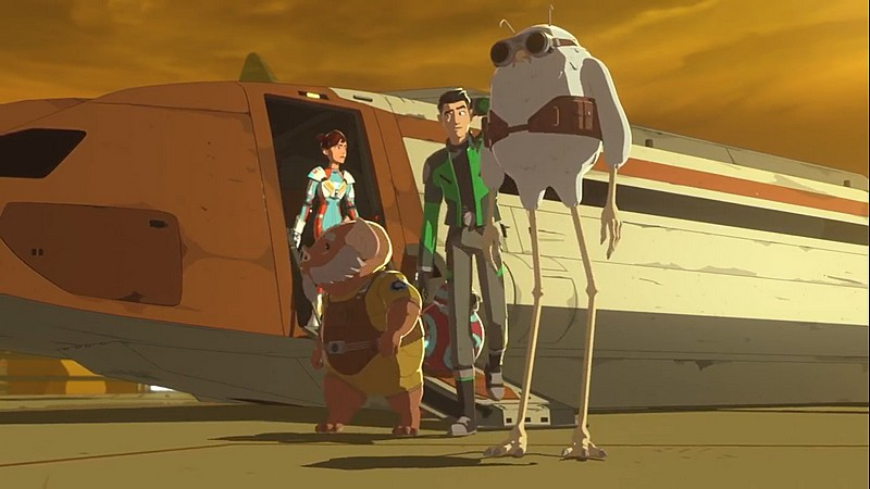 Star Wars Resistance - S02E06 - From Beneath