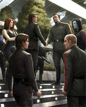 Le Nouvel Ordre Jedi Vol. 16 : L'Hérétique de la Force II : Les Réfugiés