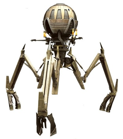 Tri-droïde magna Octuptarra