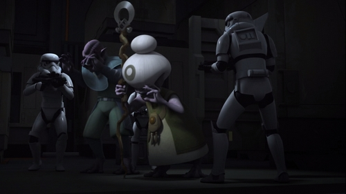 Rebels S02E12 - Legends of the Lasat