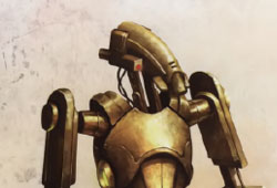 Ancien droïde de sécurité hutt