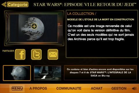 Star Wars Blu-Ray : Accès avant-première