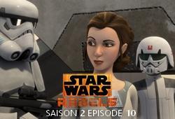 Rebels S02E10 - Une princesse sur Lothal