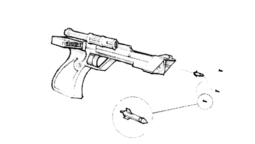 Pistolet à Fléchettes Intelligentes FWG-5