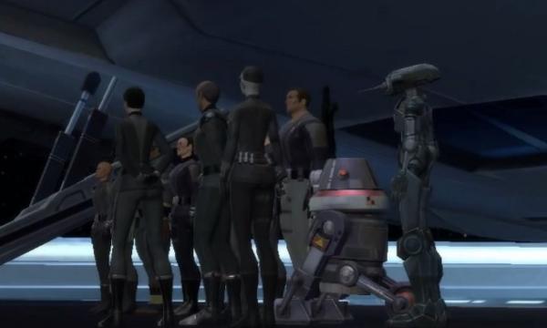 Services Secrets du Second Empire Sith
