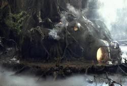 Dagobah - Hutte de Yoda