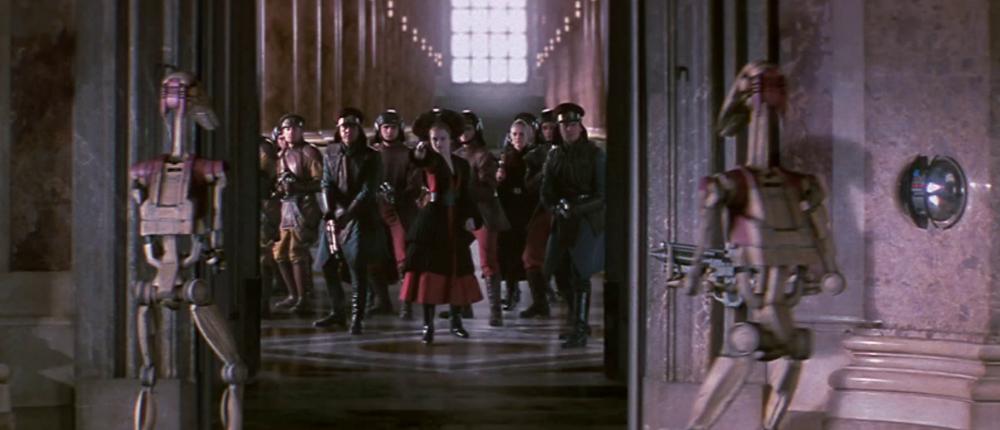 Suivantes royales de Naboo
