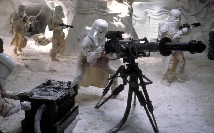 Canon blaster lourd à répétition E-Web