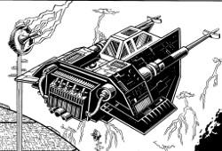 Airspeeder de combat Deathhawk