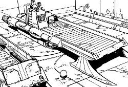 Camion speeder Cargo Master Z-12