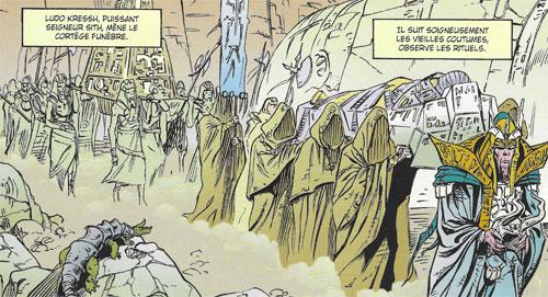 Funérailles de Marka Ragnos