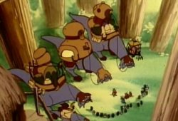 Ewoks S01E05 – Les Jindas, gens du voyage